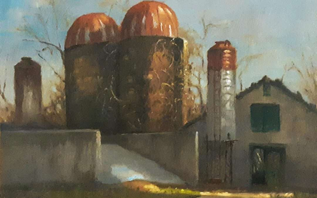Oil by Jack Broderick