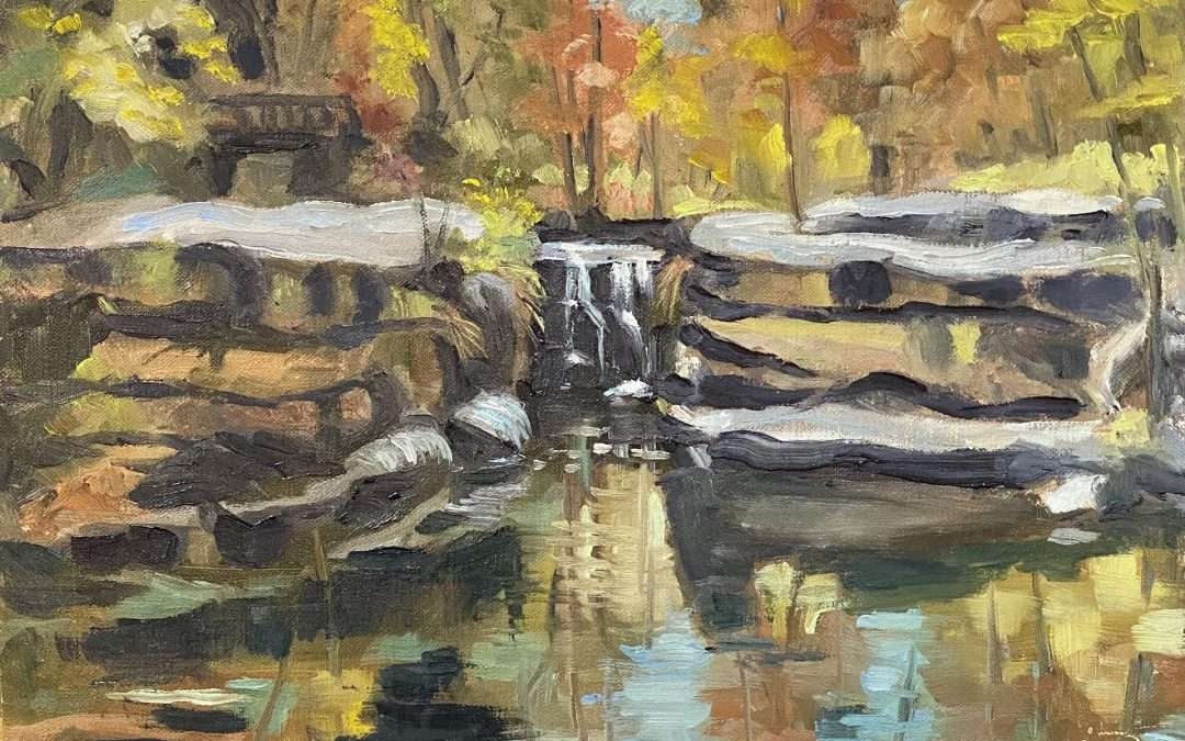 Done during the Hudson Valley Plein Air Festival Oil by Jean-Pierre Jacquet